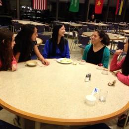 "ISA eats a deliberately ""disorganized"" dinner"