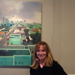 Dana parent Ann Harney brings color to the Gallery