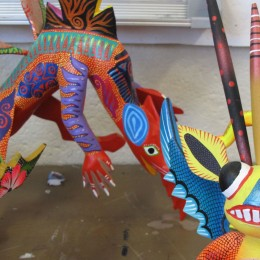 Mexican 'Closer Look' features woodcarving and painting