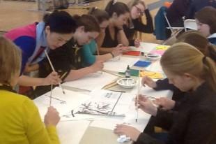 Students enjoy cultural experiences in Diversity Workshop