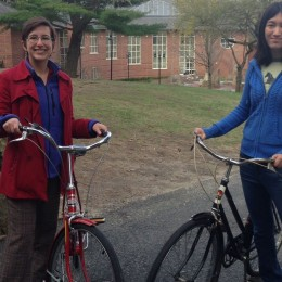 Batman on campus! New bike-share program off to a rolling start