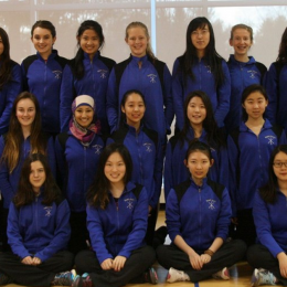 Dana Fencing Team: Compete with the men's team or not?