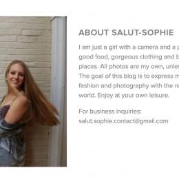 Salut-Sophie: Dana Hall's fashion blogger