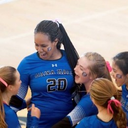 Varsity Volleyball successfully juggles exams and tournament play