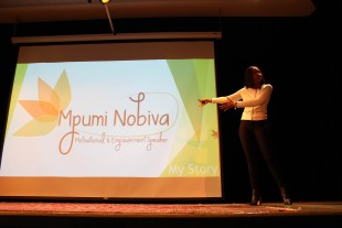 Wannamaker speaker Mpumi Nobiva receives standing ovation from Dana