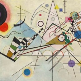Kandinsky painting brings together campus painters, dancers, and film-maker