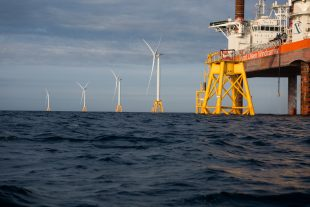 Another step towards clean energy: America's first offshore wind farm