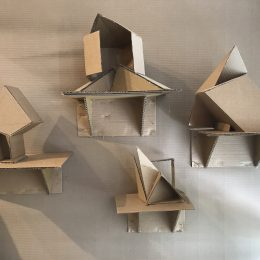 Cardboard: Dana Hall artists re-envision simple material in gallery show