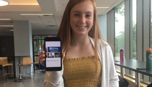 Paige Jacobson '20 is super excited about spending the year in Spain. Other Dana Hall students will also be elsewhere studying next year.