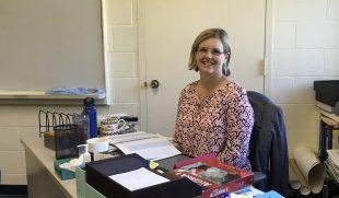 Math Department's Newest Member, Mrs. Demler