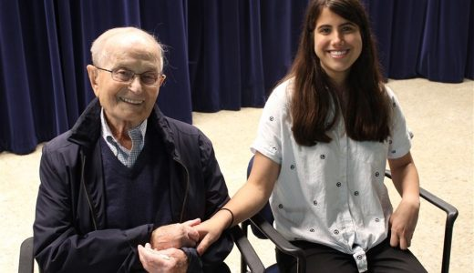 A Holocaust survivor tells his story