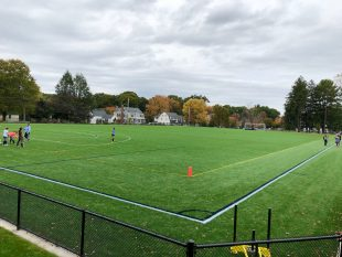 The athletic program at Dana Hall gets an upgrade with the new turf field