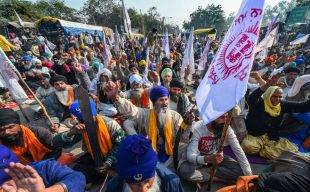 Your pantry and India: Farmers protest in New Delhi
